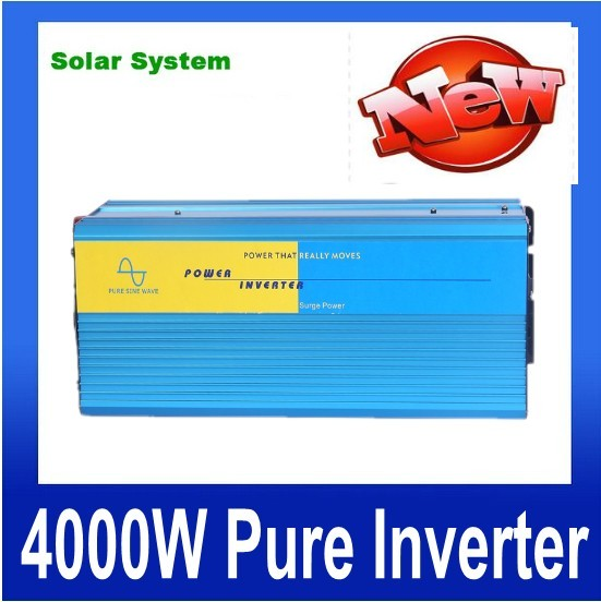 цена на 4000W onde sinusoidale pure 4000W Peak 8000W Pure Sine Wave Inverter 12/24/48V to 120/230VAC Power Inverter