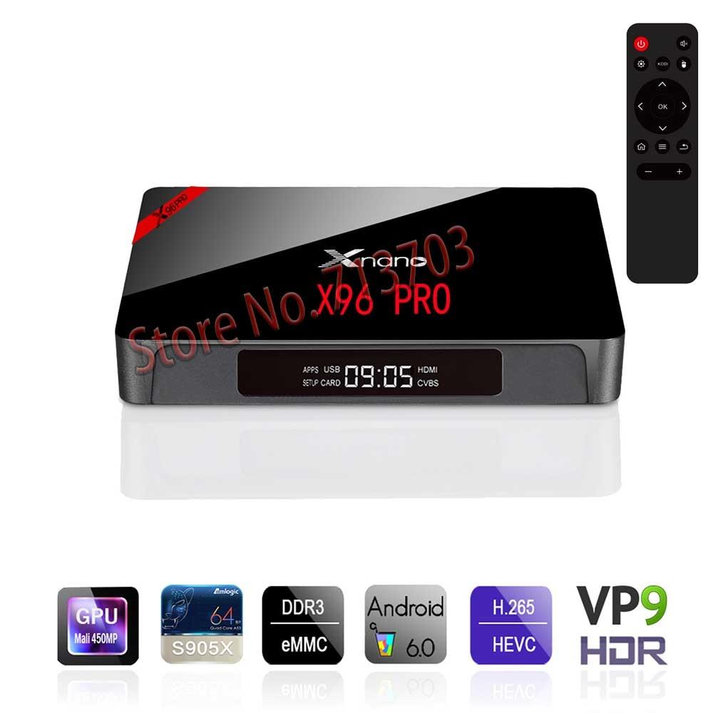20 PCS/ lot  Lastest X96 PRO 1G/8G Smart Android 6.0 TV Box: Amlogic S905X 4K 2.4GHz WiFi HDMI 2.0a & LED indicator Media Player laker pro d9 7 8 x p9 yamaha 20 30 л с 45618
