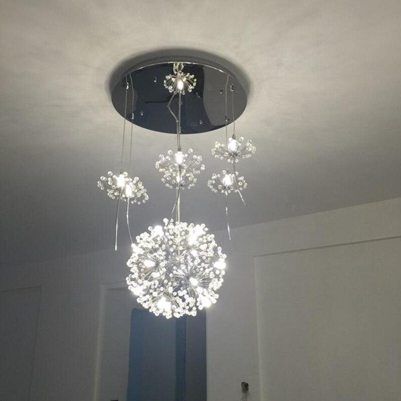 Promoción de moderna lámpara de araña   compra ...
