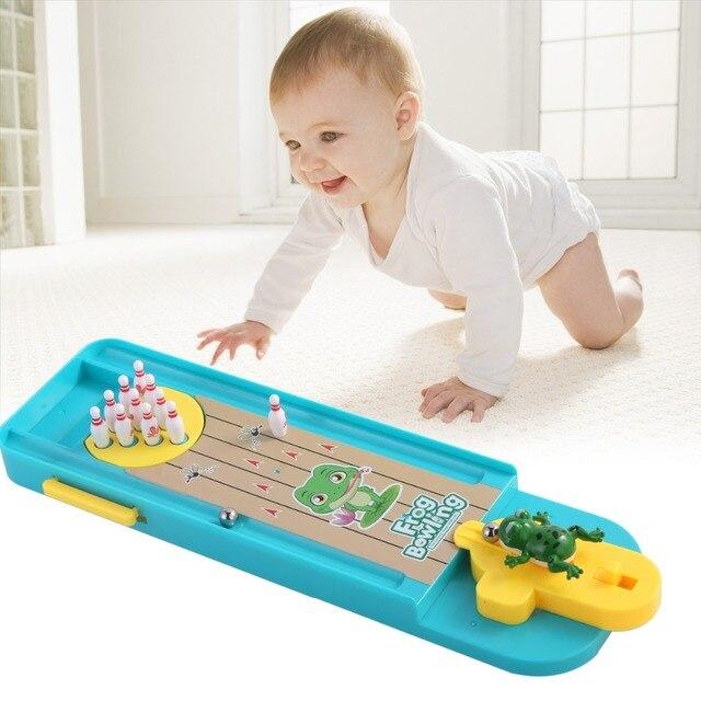 Мини настольный Боулинг игра игрушечный комплект забавная домашняя родитель-ребенок Интерактивная настольная игра Боулинг развивающая игрушка