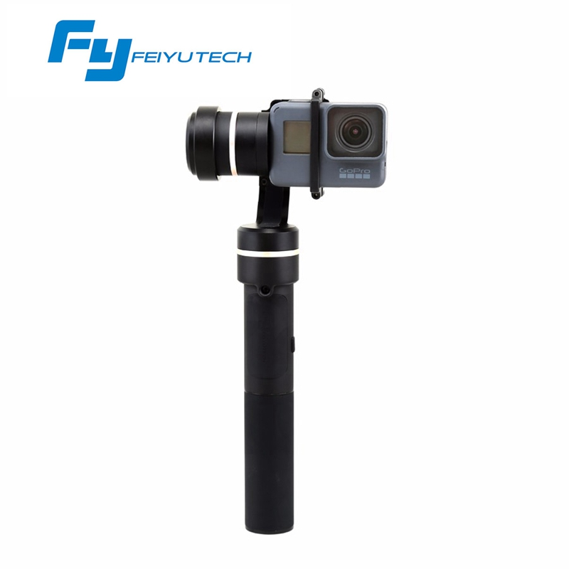 Feiyu Tech G5 Waterproof 3-axis Handheld Brushless Gimbal for GoPro 5 6 Multi Action Camera VS Zhiyun Z1 Evolution walkera g 2d camera gimbal for ilook ilook gopro 3 plastic version
