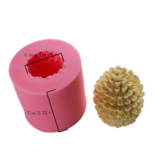 Pine nuts chocolate handmade soap candle silicone mold gypsum aroma crystal Epoxy ornaments silicone mold candle mold