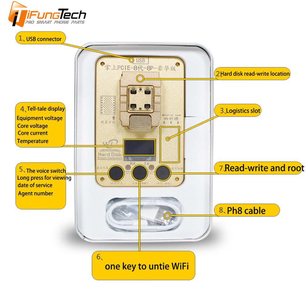 HOT SALE] WL PCIE 8 NAND Programmer Memory Upgrade Tool NAND