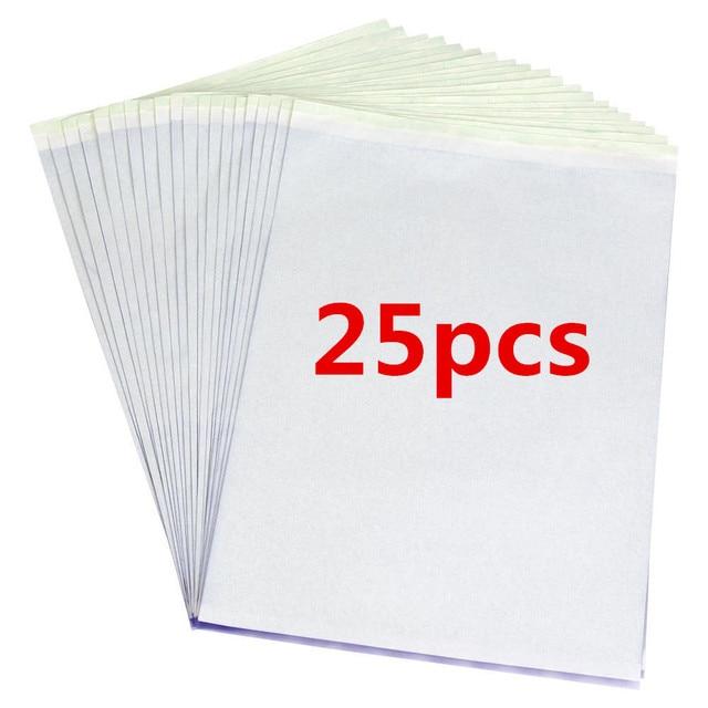 25 Pcs Tattoo Thermal Stencil Transfer Paper