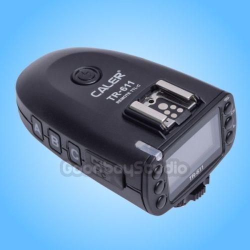 Studio CALER TR-611 TTL HSS Flash Transmitter Trigger for Canon & Jinbei HD-610 Strobe