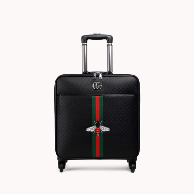 Travel tale 16/20/24 size 100%PU Rolling Luggage