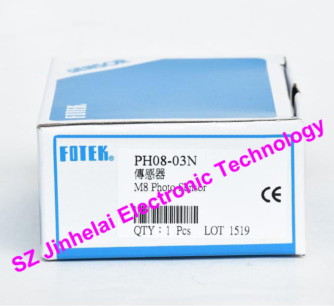 100% New and original FOTEK Photoelectric switch  PH08-03N  NPN qs18vn6lp new and original banner photoelectric switch npn