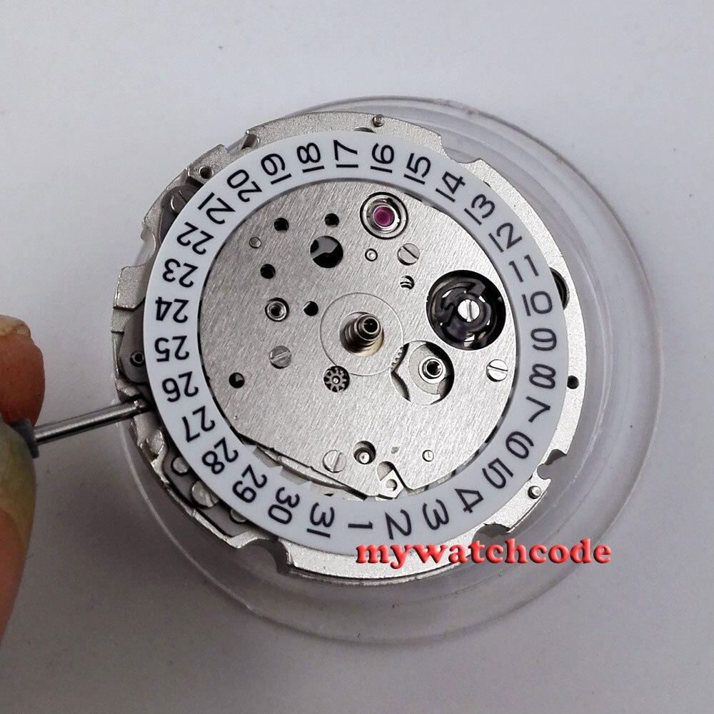 цена 21 jewels miyota 8215 date window automatic mechanical movement M11 онлайн в 2017 году
