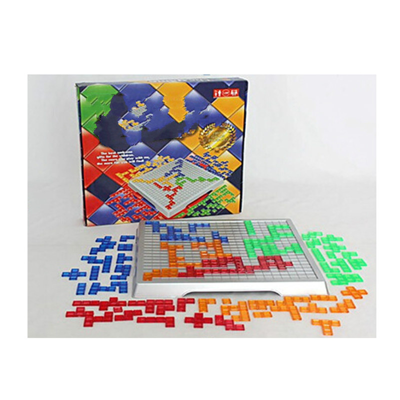 Blokus Strategy Game Tetris 2 Player and 4 Player Version Family Board Game