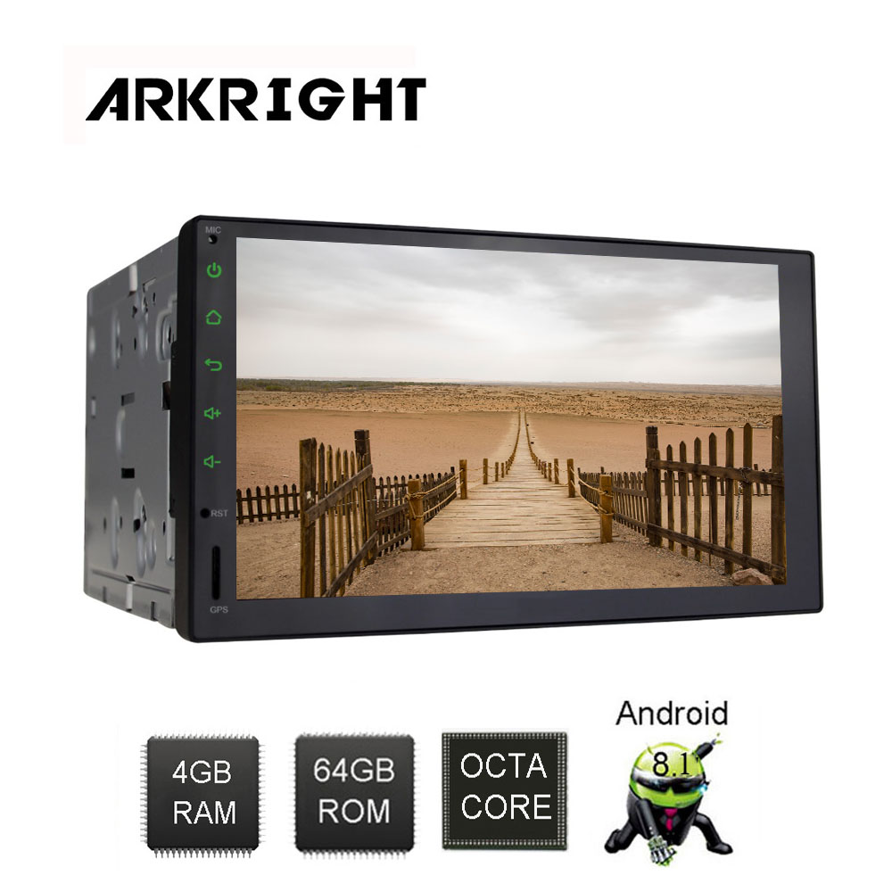 Image 5 - ARKRIGHT 7'' 4+64GB 2Din Android Car player Android 8.1 car autoradio carplay sc9853i with 4G SIM card slot car mulitimedia-in Car Multimedia Player from Automobiles & Motorcycles