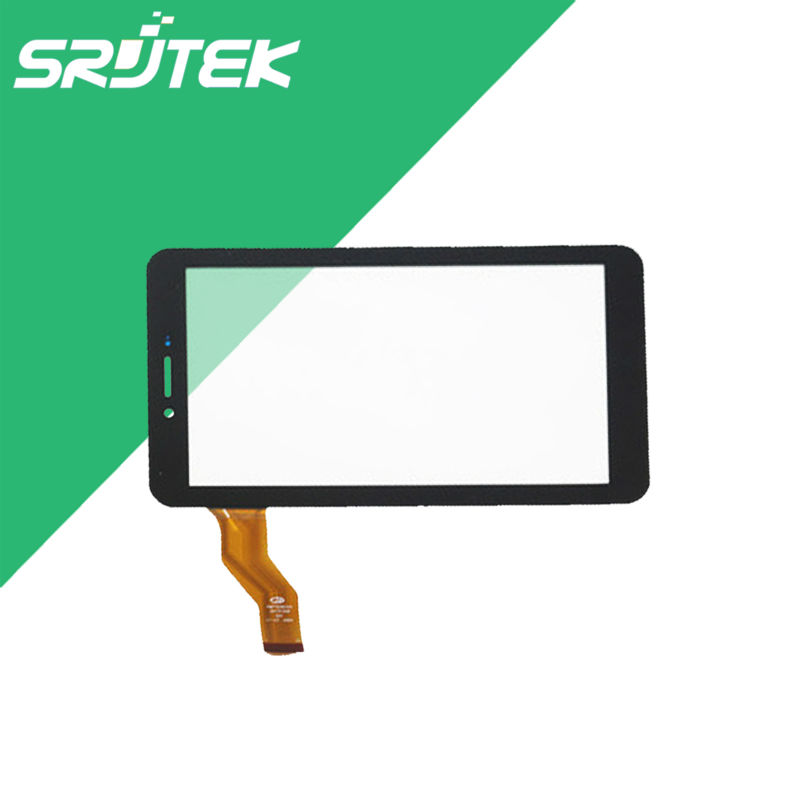 Black 7 Inch Touch Screen for Irbis TG79 TX18 TX77 3G Touch Digitizer Sensor Panel Front Glass Tablet PC Replacement Parts New new for 8 irbis tz86 3g irbis tz85 3g tablet touch screen touch panel digitizer glass sensor replacement free shipping