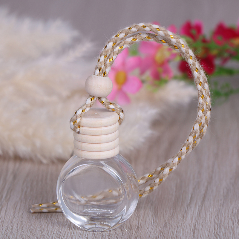 Oils Car-styling Perfume Fragrance Accessories Air Freshener Auto Pendant Ornament Car Perfume Bottle for Essential