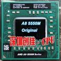 original Amd Laptop CPU A8 5500M A8-5500m Socket FS1 CPU 4M Cache/2.1GHz/Quad-Core Notebook processor