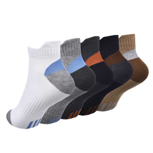 Cotton Bamboo Fiber Breathable Mesh Mountain Socks