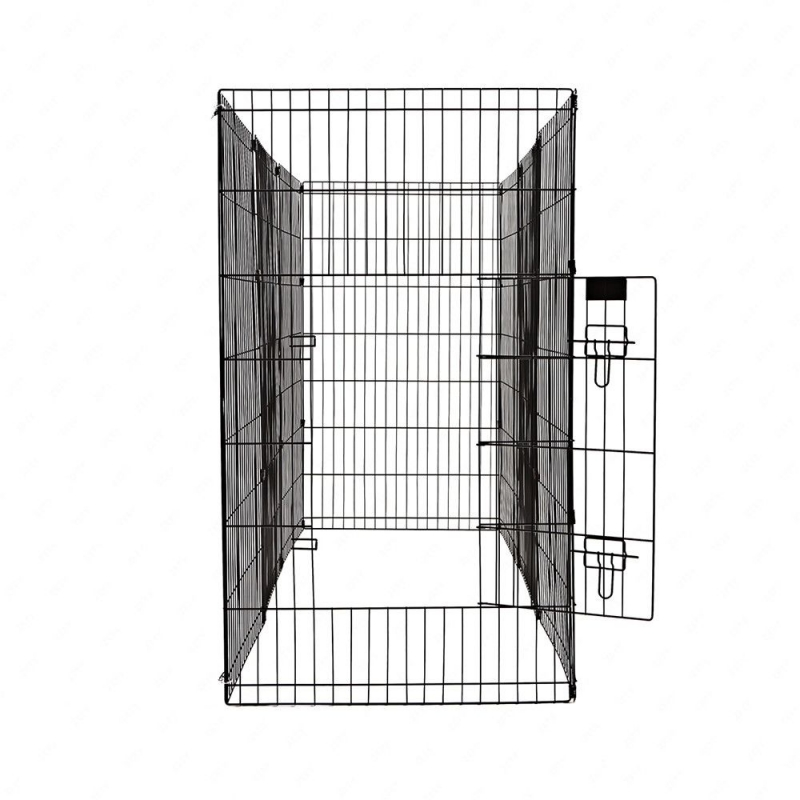 36-Tall-Wire-Fence-Pet-Dog-Cat-Folding-Exercise-Yard-8-Panel-Metal-Play-Pen-Black_5_800x800