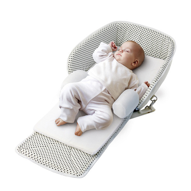 High Quality Baby Safety Bed Protection Portable Folding Baby Crib Mummy Bag Newborn Travel Bed Infant Cotton Sleepping Baskets