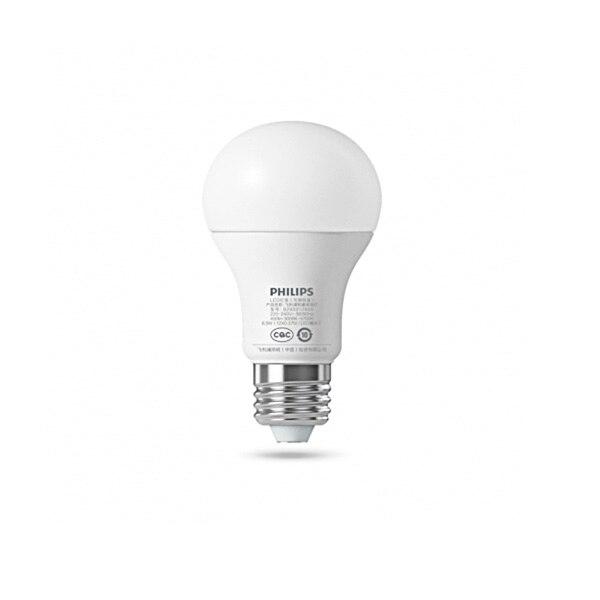 PHILIPS LED Bulb 6.5W E27 220 - 240V 450LM 3000 - 5700K Stepless Dimming Smart LED Ball Lamp цена
