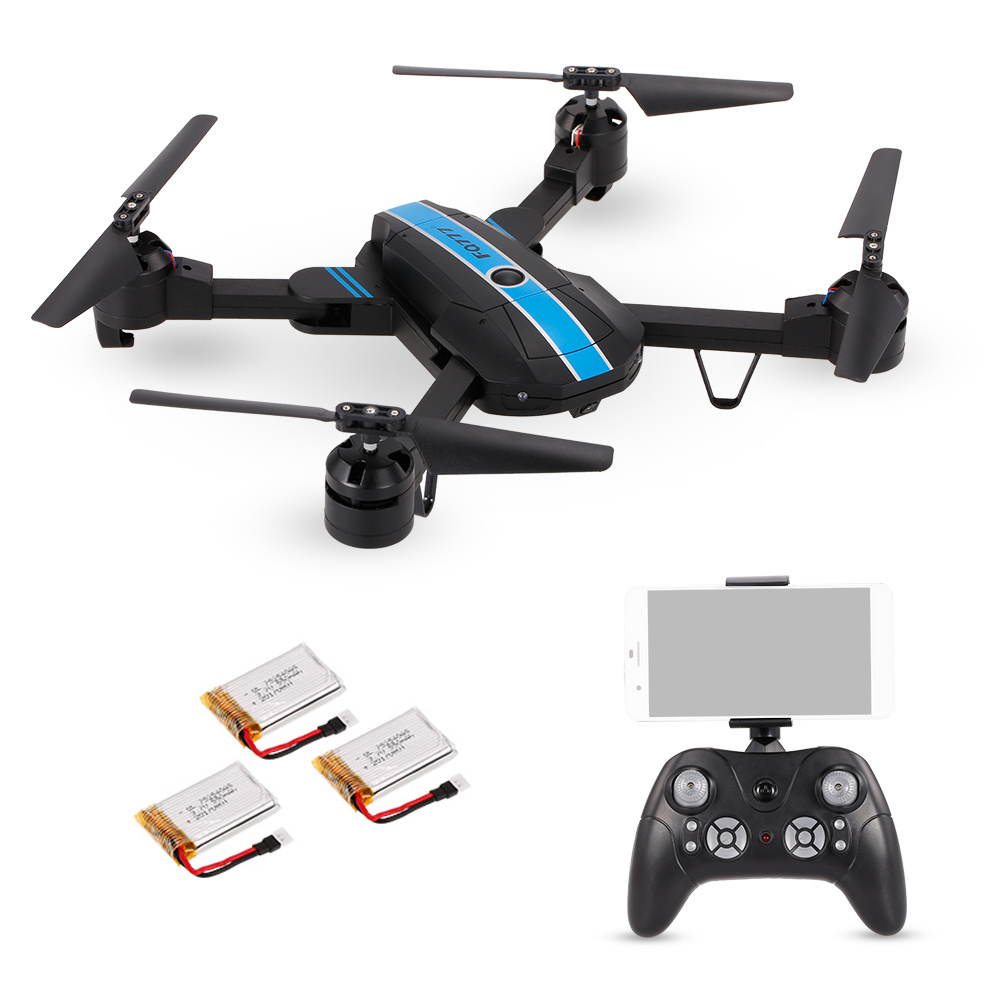 FQ777 FQ24 6 Axis Gyro WIFI FPV RC Drone with Camera 0 3MP 720P Quadcopter Foldable