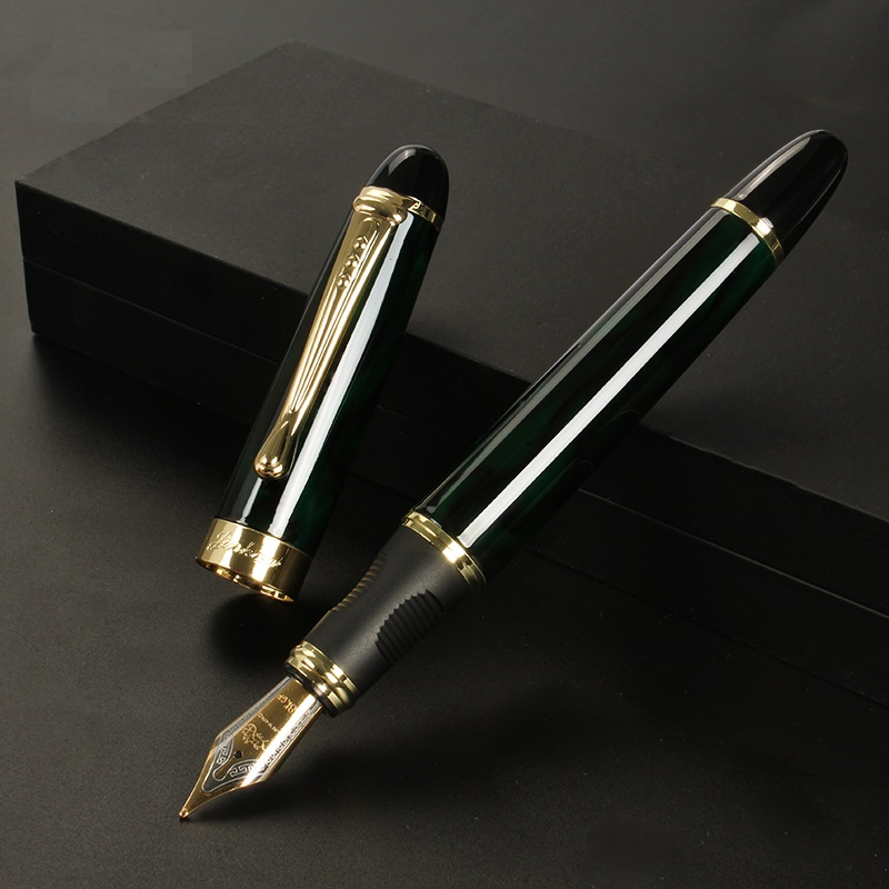Jinhao 450 Fine Iraurita Gold nib Fountain pen for signature writing Office accessories school supplies Canetas escolar FB293 in Fountain Pens from Office School Supplies