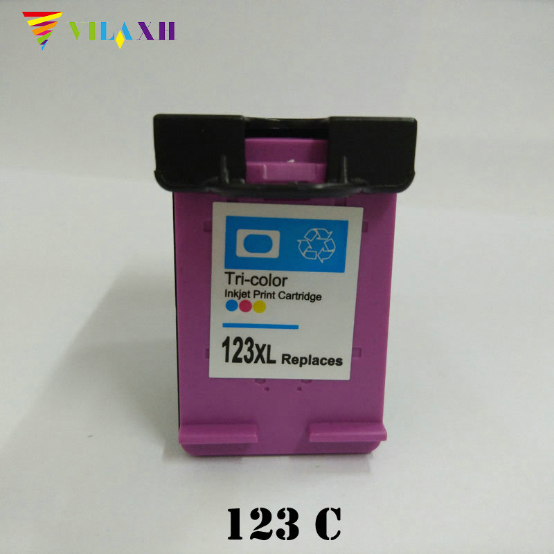 For HP 123 Color Ink Cartridge For HP123 Xl 123xl Deskjet 1110 1111 1112 2130 2132
