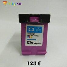 For HP 123 Color Ink cartridge HP123 xl 123xl Deskjet 1110 1111 1112 2130 2132 3630 3632 Printer