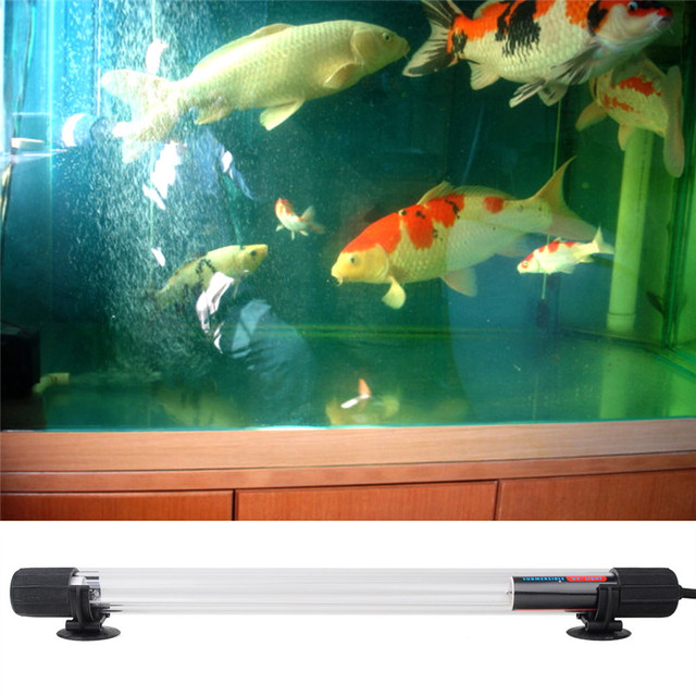 15w 36 5cm Ip68 Waterproof Aquarium Fish Tank Uv Light Submersible