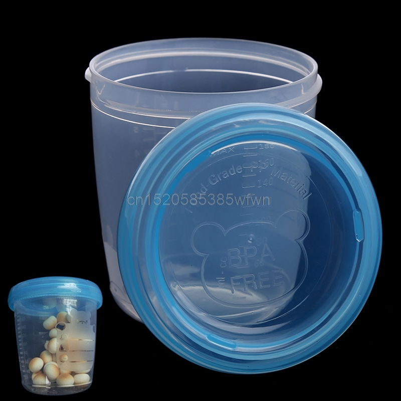 1Pc 180ML Bear Breast Milk Storage Bottle Collection Neck Wide Feeding Fresh Cup New #HC6U# Drop shipping