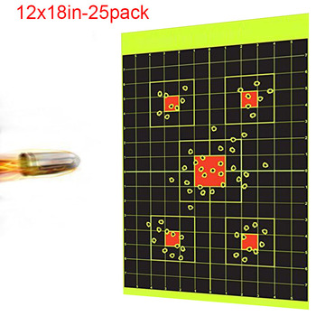 12x18in 25pack Sight In shooting Target shooting stickers paintball slingshot hunting air rifle bb gun for shooter practice david watson abcs of rifle shooting