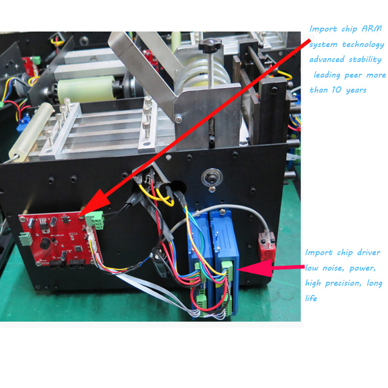 Máquina de corte automática tubo mangueira cabo máquina de corte calor psiquiatra cortador de tubulação sílica gel cortador de tubo 110 v/220 v MRD 100 - 4