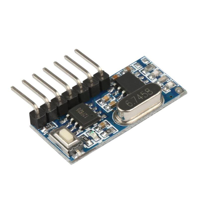 Image 4 - 16 Pcs 433Mhz Wireless Remote Control Switch 4CH RF Relay EV1527 Encoding Learning Module For Light Relay Receiver-in Remote Controls from Consumer Electronics