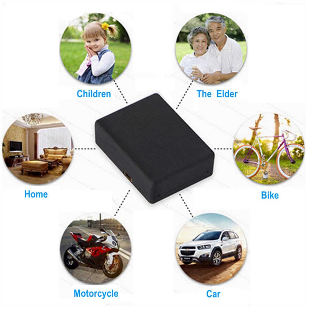 Gps трекер мини трек GSM подслушивающее устройство персональная Голосовая активация автоматический ответ циферблат аудио монитор наблюдения дети