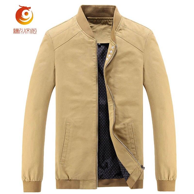 Slim Vento Fit Cappotti Colore Primavera Cargo Casual colore