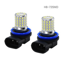 цена на 2Pcs H8 H11 Led HB4 9006 HB3 9005 Fog Lights Bulb 1300LM 6000K White Car Driving Running Lamp Auto Leds Light 12V 24V
