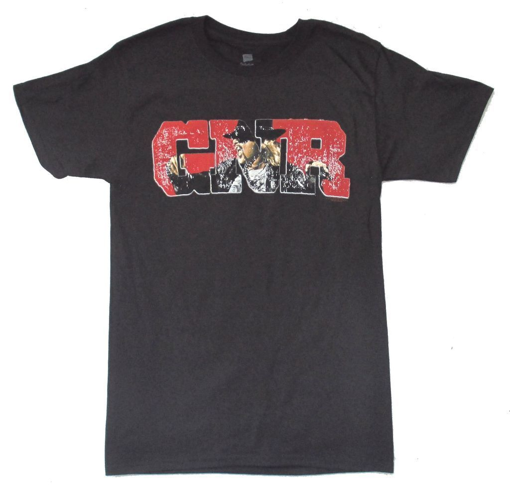 Guns N Roses Scream Tour 2011 Salt Lake City Black T Shirt New Official