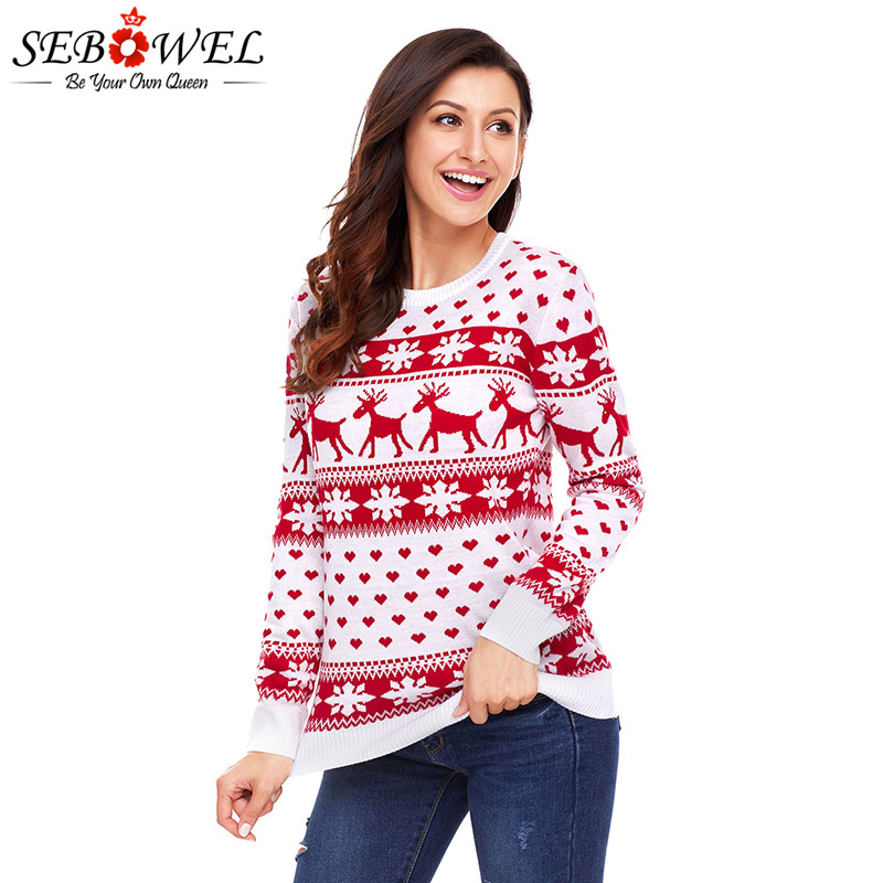 60ac52f1cd5bec Buy reindeer pullover and get free shipping on AliExpress.com