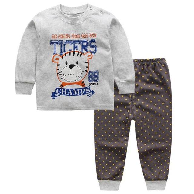 2 Piece Baby sleep set Panda pajamas nightdress nightgown shirt ...