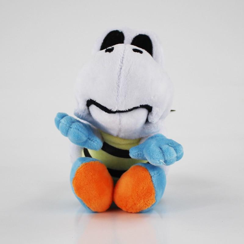 1PCS Free Shipping 2017 Cute Super Mario Bros 15cm Plush  Dry Bones Soft Toy Stuffed Animal 1