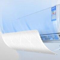 Anti direto retrátil ar condicionado condicionador de ar capa exaustão ventilador defletor de vento acessórios do ventilador de exaustão|Capas p/ ar condicionado|Casa e Jardim -