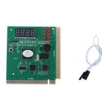 Для 4 цифры ПК компьютер диагностических карт материнская плата Сообщение тестер PCI ISA C26