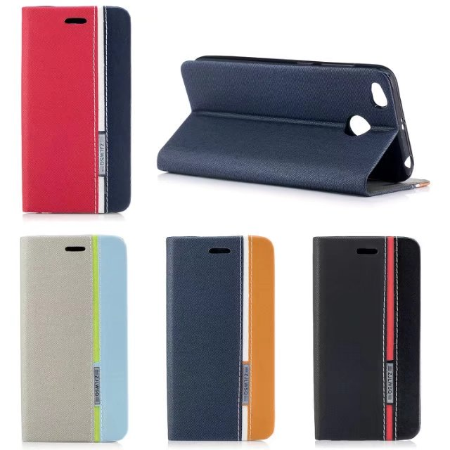 Luxury PU Leather Flip Case For Xiaomi Redmi 4X With Stand Wallet Holster Protective Cover Bag For xiaomi redmi4X 4X phone shell
