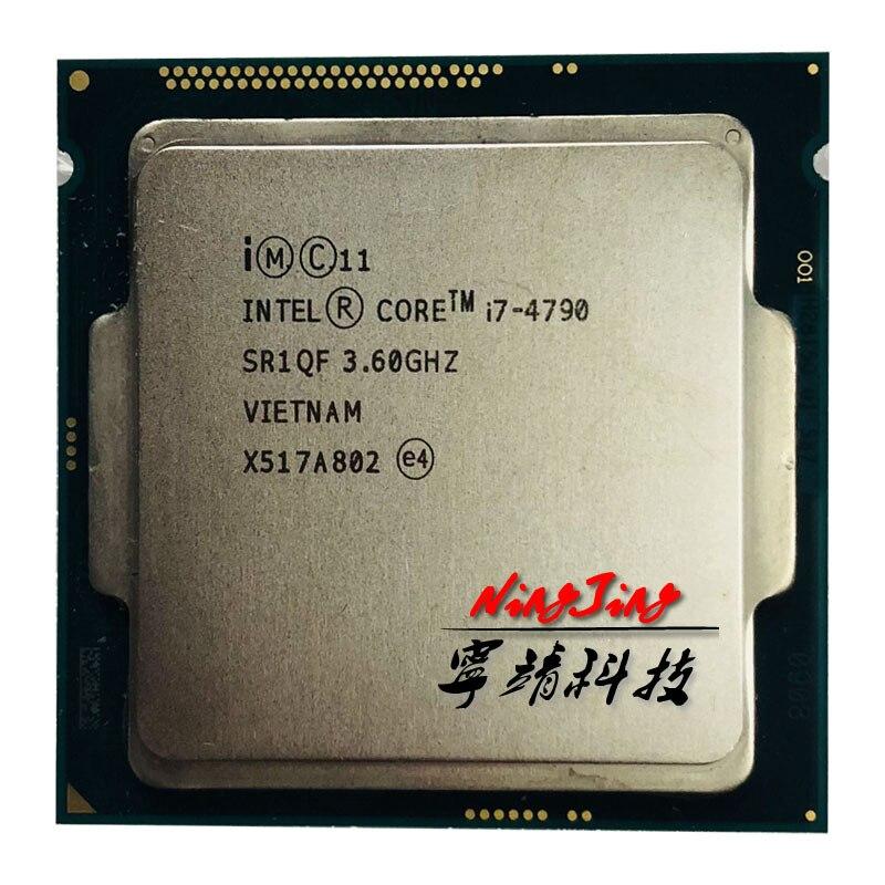 Intel Core i7 4790 i7 4790 3 6 GHz Quad Core CPU Processor 8M 84W LGA