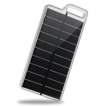 PowerGreen Phone Accessory Dual USB Ports 10000mAh Solar Charger Backpack External Battery Power Bank for Cell