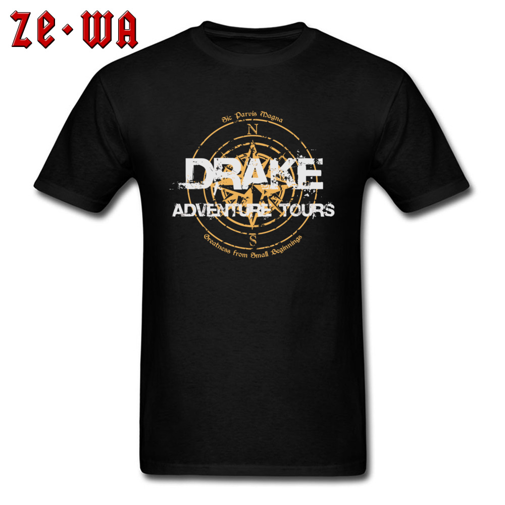 Hippie Camisa Men T-shirt Drake Adventure Tours Punk T Shirt Rap Letter Tops 2019 Summer Black Tees New Oversized Tshirt Cotton