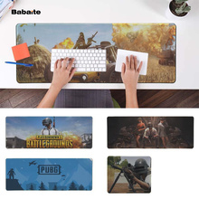 Babaite Cool New Playerunknowns Battlegrounds PUBG Laptop Computer Mousepad Free Shipping Large Mouse Pad Keyboards Mat