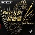 KTL Pro XP Gold Dragon pips-in tenis de mesa/pingpong caucho con esponja
