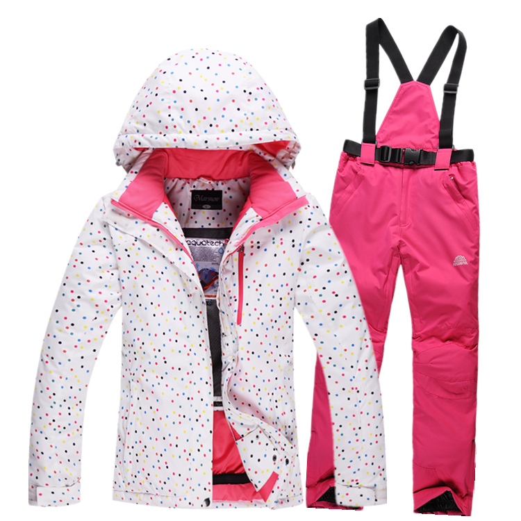 Newest ski suits women's jacket+pants,snowboard clothes,snowboarding skiing jackets Sports Waterproof Windproof Breathable