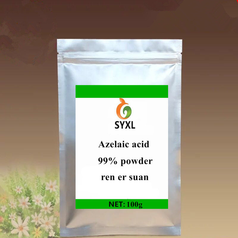 ISO Best Selling Azelaic Acid  99% Powder Ren Er Suan Anti-inflammatory And Freckle Elimination  Treatment  Pigmentation