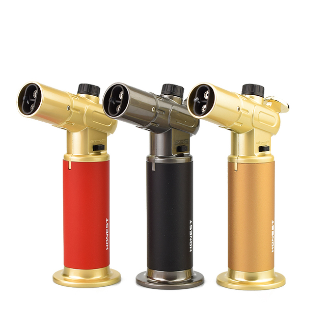 Best Honest Cigar Cigarette Lighter Windproof Gas Lighter Double