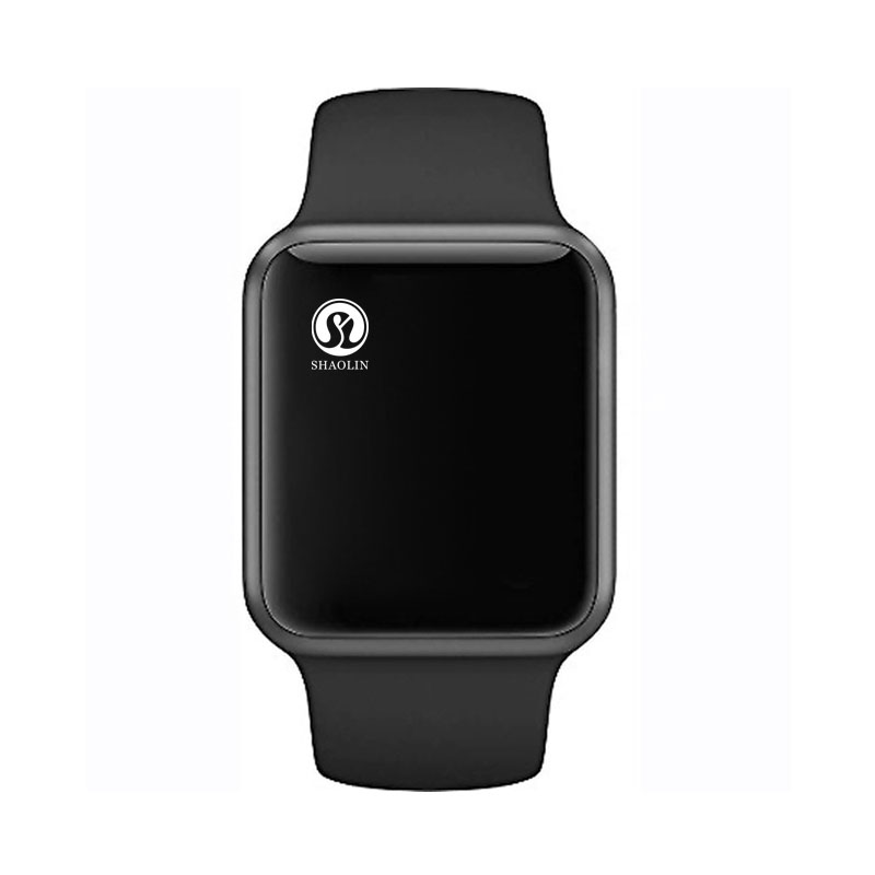 Reloj inteligente Bluetooth serie 4 SmartWatch para Apple iOS iPhone Xiaomi HUAWEIAndroid teléfono inteligente no reloj de Apple (botón rojo)