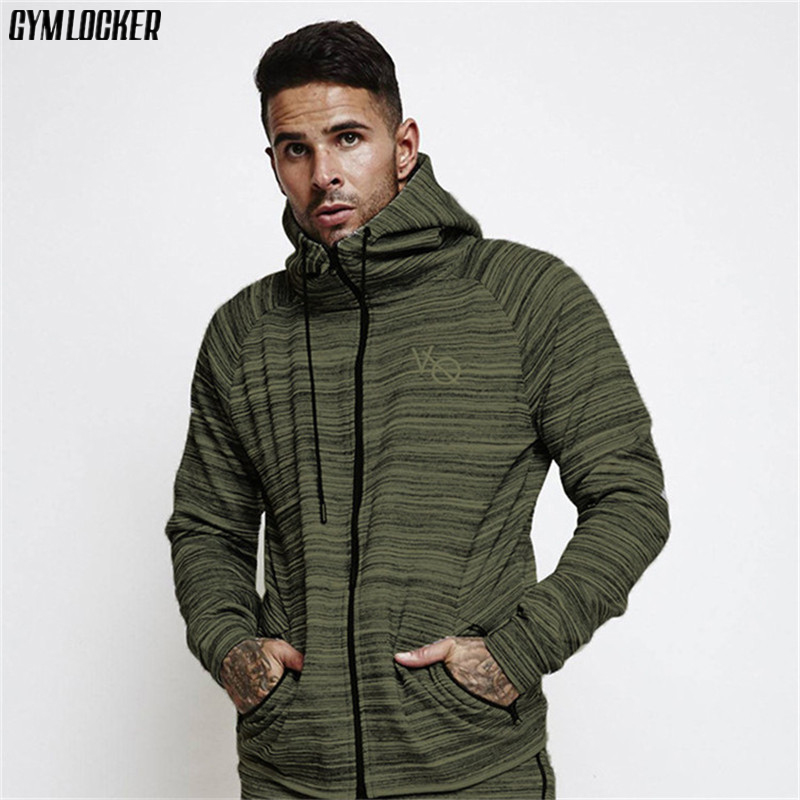 GYMLOCKER 2018 Winter new clothes Lengthy sleeve Zipper hoodie sweatshirt males's stripes Bodybuilding males Hoodie streetwear Hoodies & Sweatshirts, Low cost Hoodies & Sweatshirts, GYMLOCKER 2018 Winter new clothes...